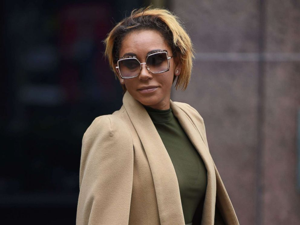 PHOTO: Melanie Brown (Spice Girl Mel B) leaves Los Angeles Superior Court Stanley Mosk Courthouse, in Los Angeles, Nov. 9, 2017.