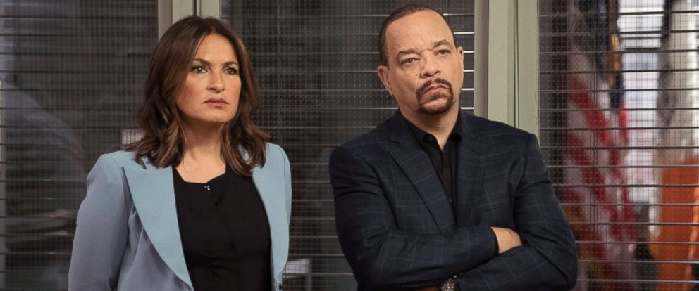 "PHOTO: Mariska Hargitay as Olivia Benson and Ice-T as Odafin Tutuola in ""Law and Order: Special Victims Unit."""