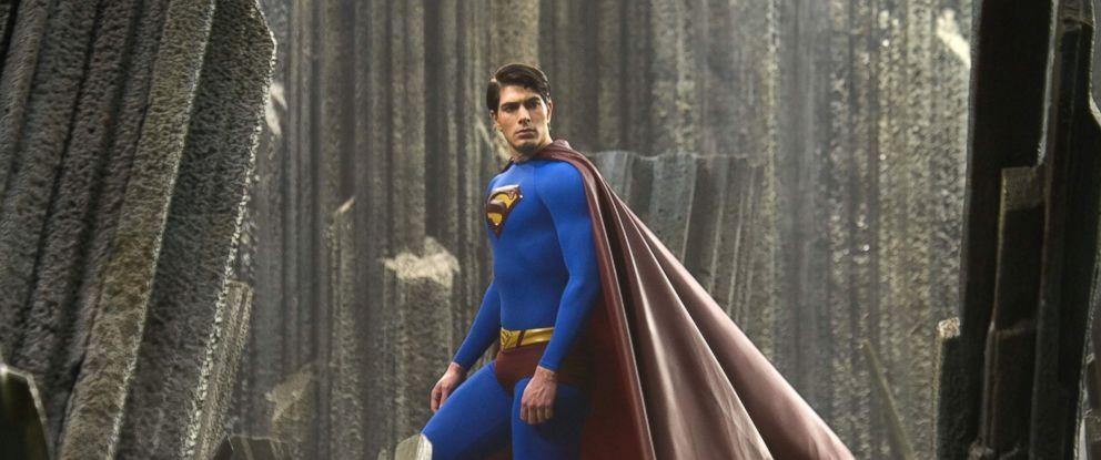 PHOTO Brandon Routh Appears In A Scene From The Movie Superman Returns