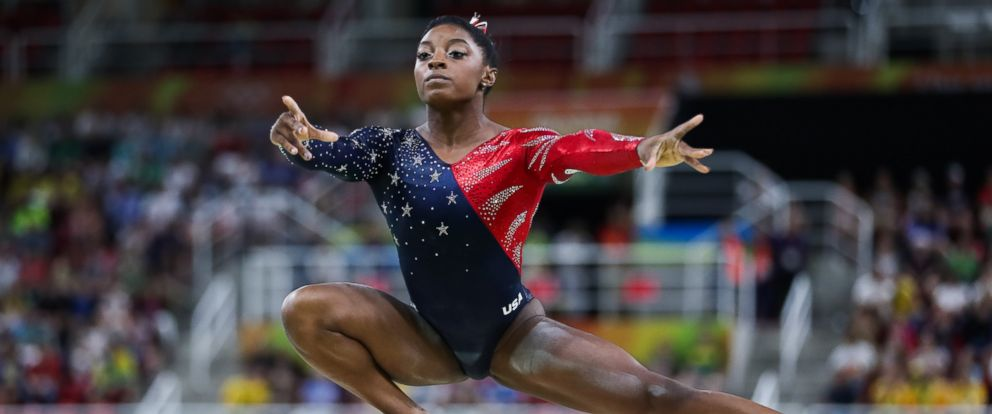 PHOTO: Simone Biles of the United States acts during womens qualification match of balance Beam of Artistic Gymnastics at the 2016 Rio Olympic Games in Rio de Janeiro, on Aug. 7, 2016.