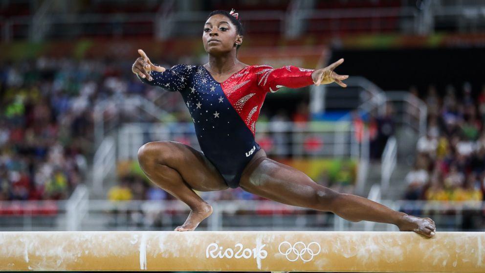 Simone biles 39 top 4 ways to stay cool under olympic pressure abc news - Simone biles pics ...