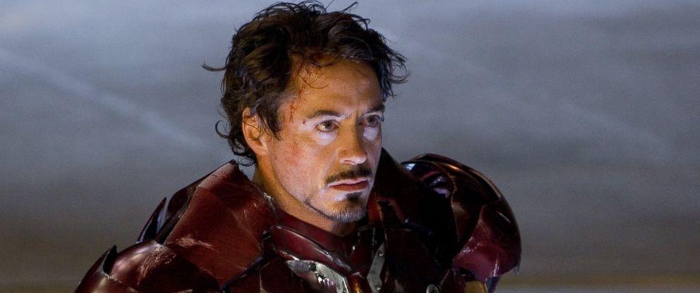 Robert Downey Jr. stars in Iron Man, 2008.