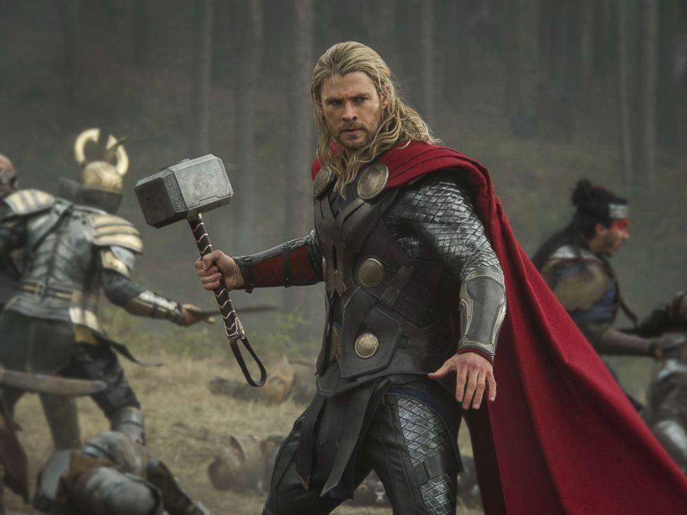 PHOTO: Chris Hemsworth in a still from Thor: The Dark World, 2013.