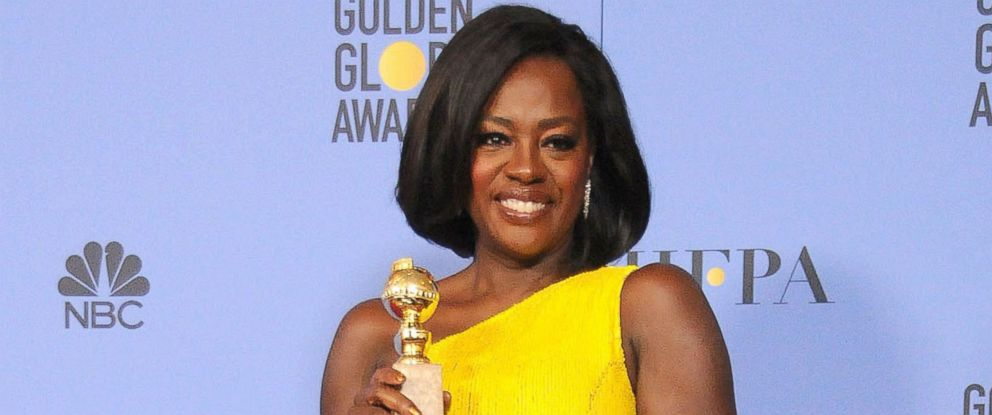 PHOTO: Viola Davis is seen at the 74th Annual Golden Globe Awards, Beverly Hills, California, Jan. 7, 2017.