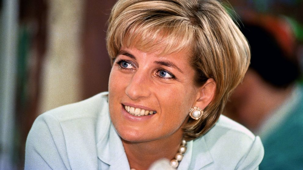 Diana, the Princess of Wales is pictured during her visit to Leicester, England, to formally open The Richard Attenborough Center for Disability and Arts, May 27, 1997.