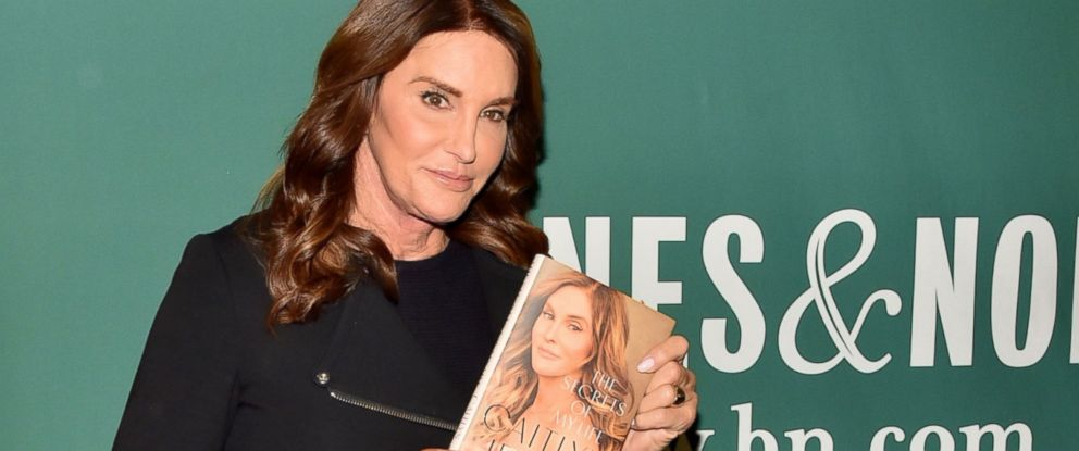 "PHOTO: Caitlyn Jenner at ""The Secrets of My Life"" book signing, in Barnes & Noble, on April 26, 2017, in New York City."