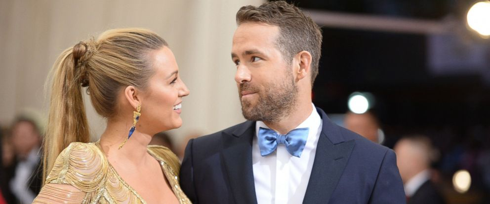 """PHOTO: Blake Lively and Ryan Reynolds attend the """"Rei Kawakubo/Comme des Garcons: Art Of The In-Between"""" Costume Institute Gala at Metropolitan Museum of Art in New York City, May 1, 2017."""