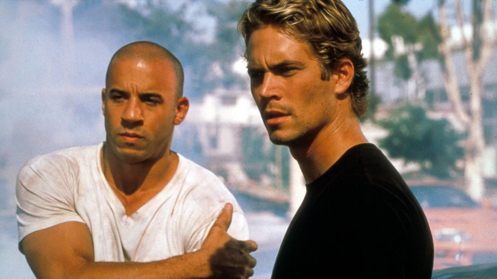 'The Fast And The Furious' starring Vin Diesel and Paul Walker (2001)