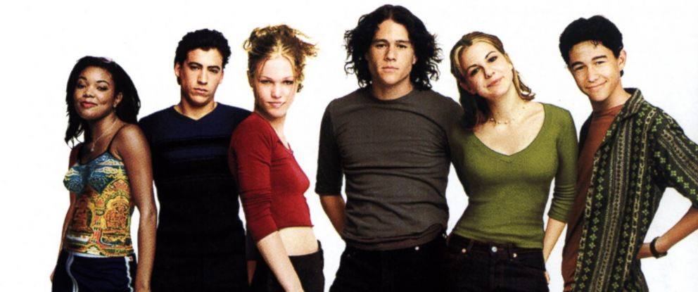 "PHOTO: The original movie poster for ""10 Things I Hate About You."""