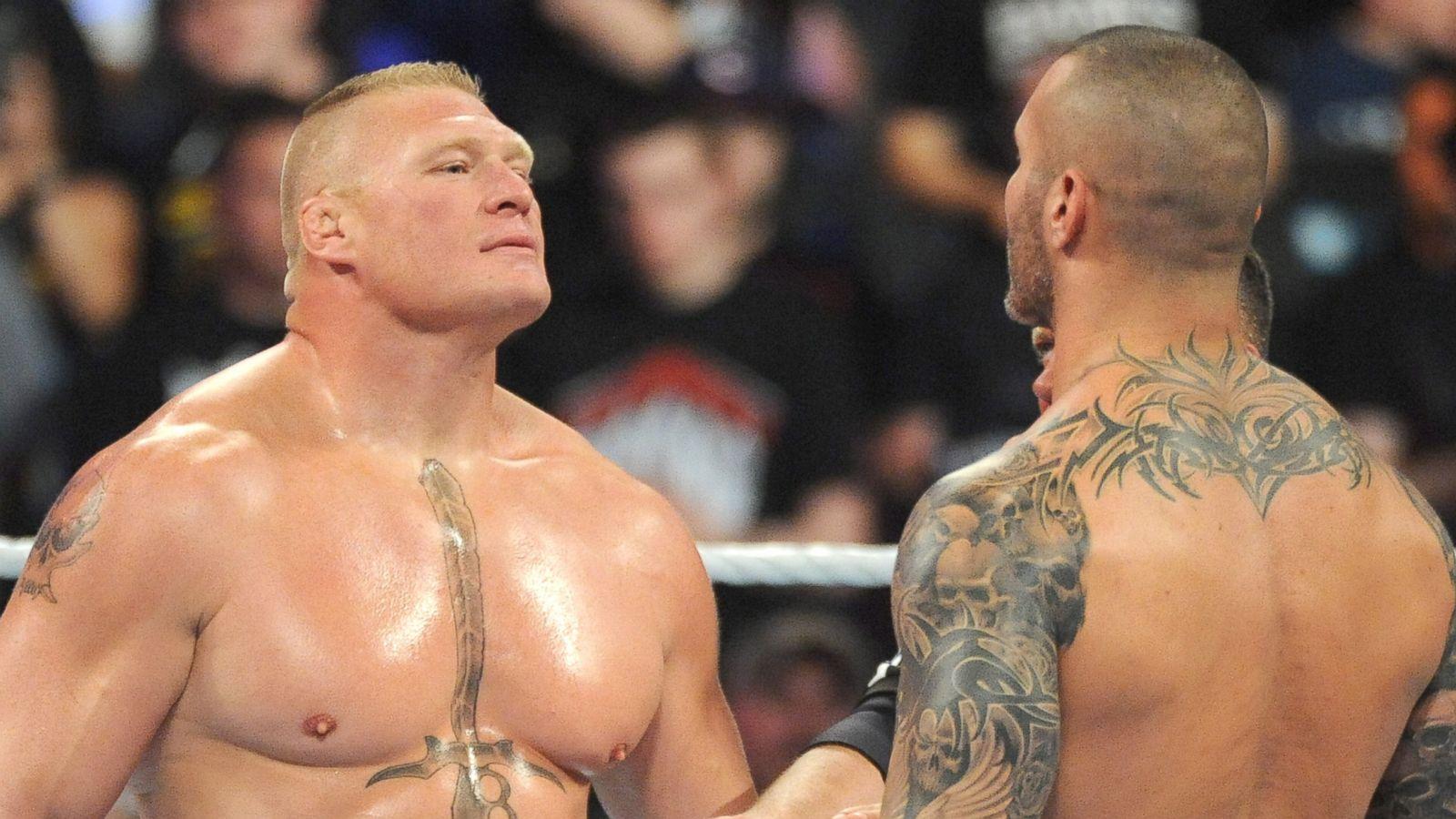 Brock Lesnar Still Talking Trash After Summerslam Abc News