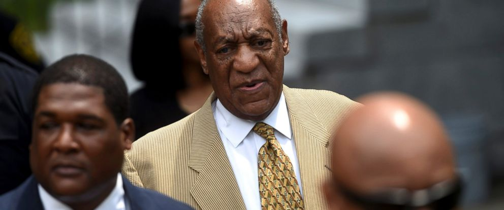 PHOTO: Actor and comedian Bill Cosby arrives for a Habeas Corpus hearing on sexual assault charges at the Montgomery County Courthouse in Norristown, Penn., on July 7, 2016.