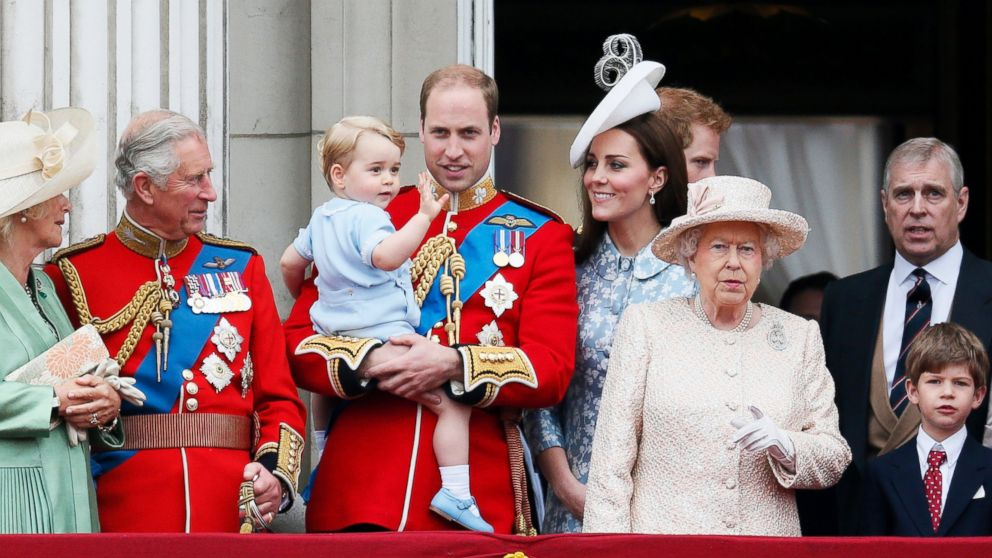 Queen Elizabeth had a grand birthday celebration