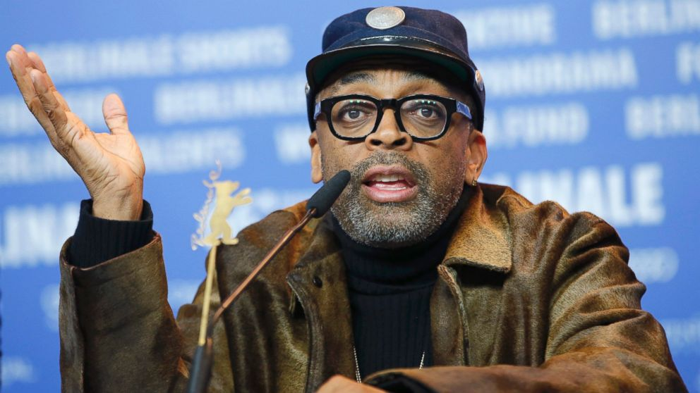 Director Spike Lee attends a news conference to promote the movie 'Chi-Raq' at the 66th Berlinale International Film Festival in Berlin, Feb. 16, 2016.