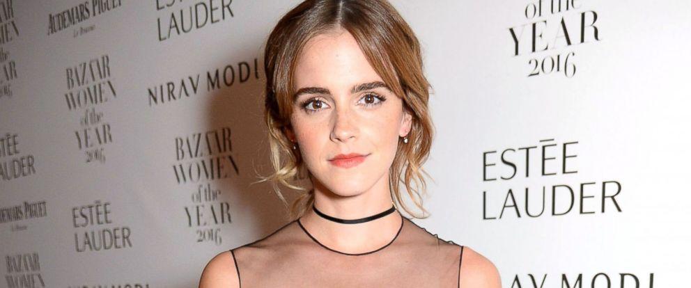 PHOTO: Emma Watson attends Harpers Bazaar Women of the Year Awards, Oct. 31, 2016, in London.