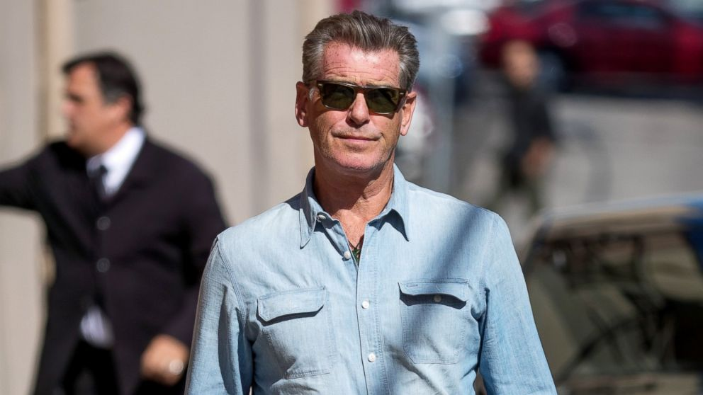 e4612969dad3c Pierce Brosnan opens up about heartbreak   I don t look at the glass as  half full  - ABC News
