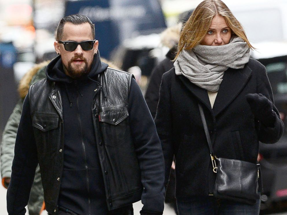 cameron diaz is married to benji madden abc news