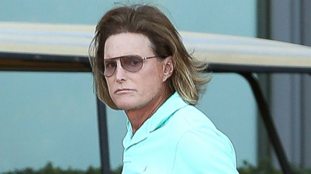 "PHOTO: Bruce Jenner seen for the first time after his reported adams apple operation. Jenner was filming ""Keeping up with the Kardashians."""