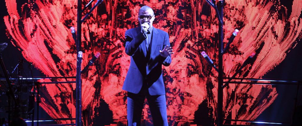 PHOTO:George Michael performs in Berlin at O2-World at Symphonica - The Orchestral Tour in this Sept. 5, 2011 file photo.