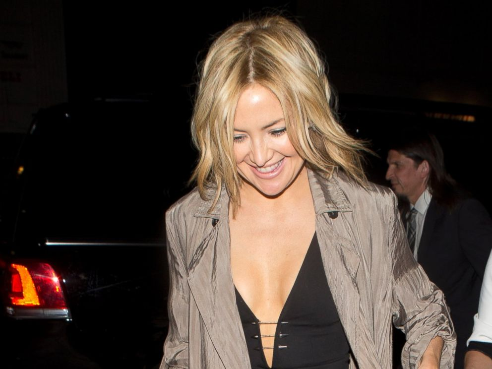 PHOTO: Kate Hudson was seen arriving at Lady Gagas Birthday Party at no Name Restaurant in Los Angeles.