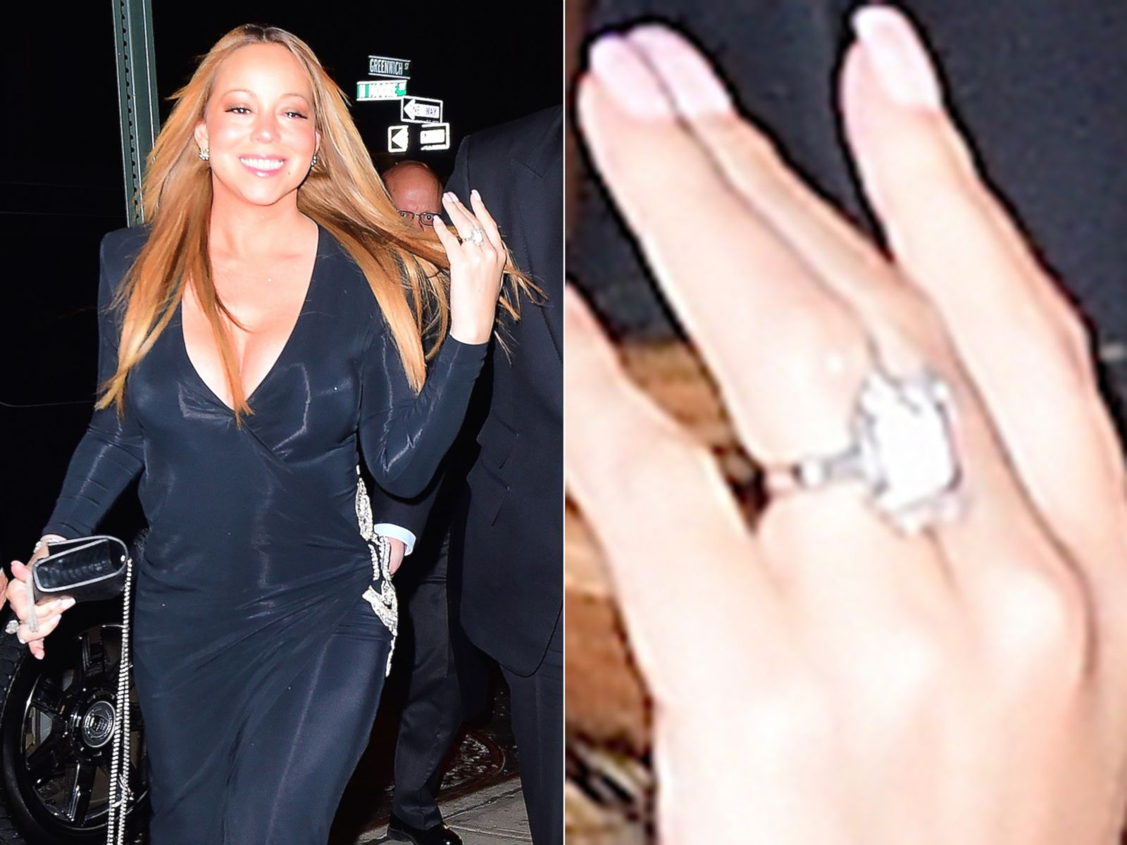 Mariah Carey Sports Some New Bling on \'That Finger\' Picture ...