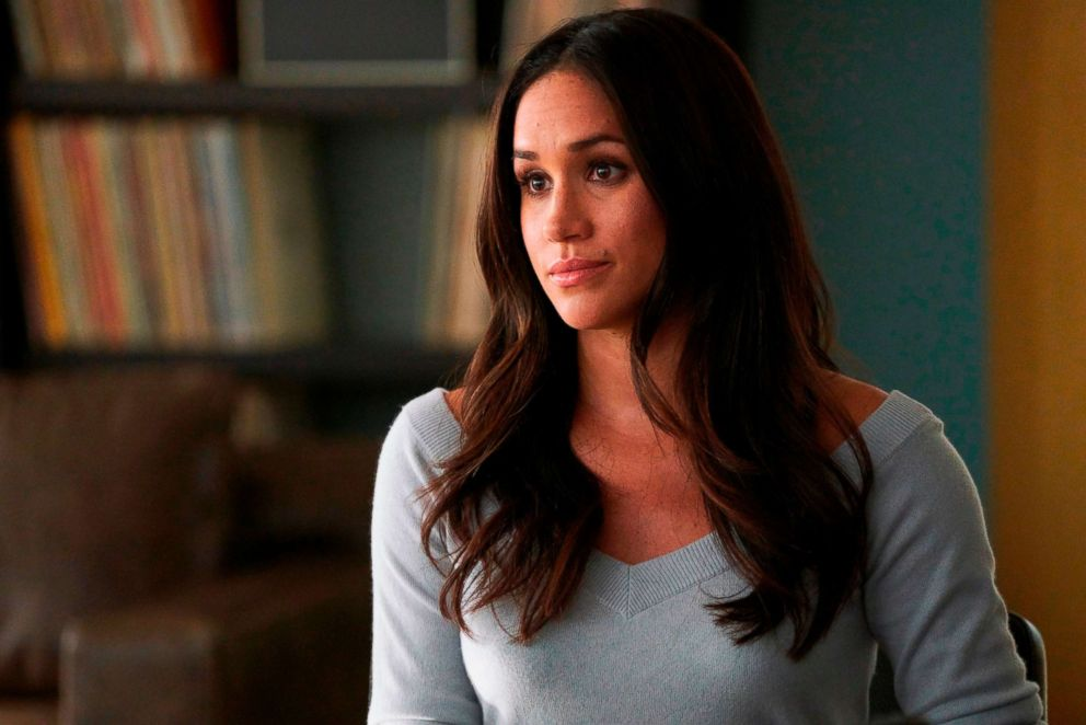 Meghan Markle appears in a scene from Suits.