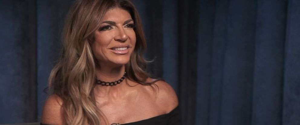 "PHOTO: ""Real Housewives of New Jersey"" star Teresa Giudice discusses her new tell-all book in an interview with ABC News Linzie Janis."