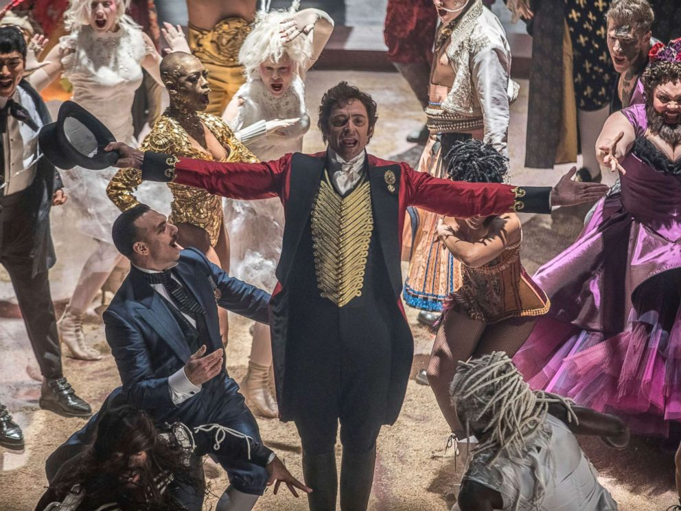 PHOTO: This image released by Twentieth Century Fox shows Hugh Jackman in a scene from The Greatest Showman.