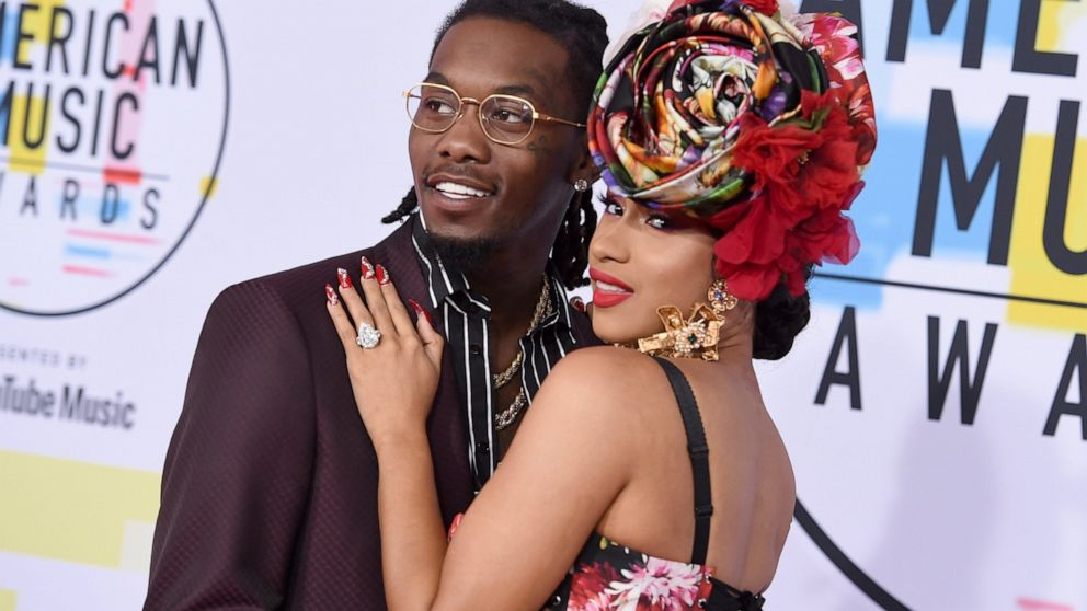 Cardi B files for divorce from Migos' rapper Offset - ABC News