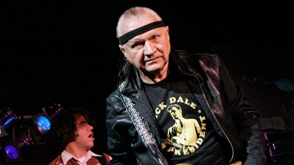 "FILE - In this May 27, 2007 file photo, Dick Dale, known as ""The King of the Surf Guitar,"" performs at B.B. King Blues Club in New York. Dale has died at age 81. His former bassist Sam Bolle says Dale passed away Saturday night, March 16, 2019. No other details were available. (AP Photo/Richard Drew, File)"