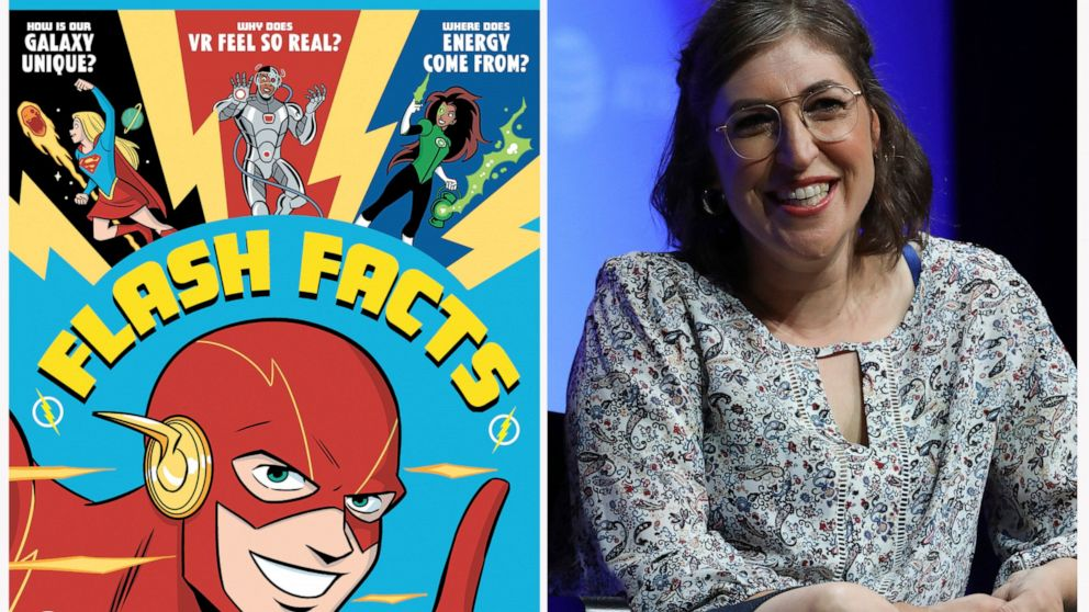Bialik and Batman: Actor teams up with DC for science books thumbnail