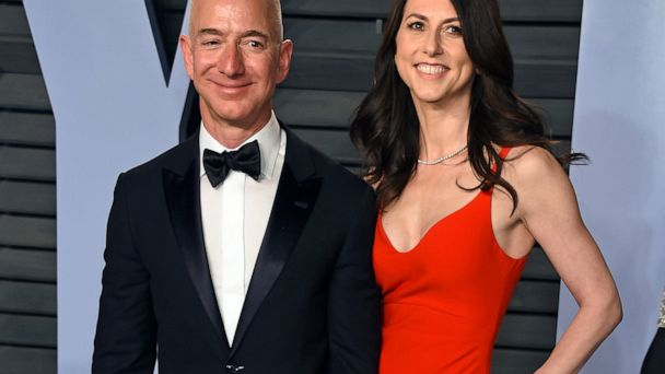 Jeff and MacKenzie Bezos divvy up Amazon stake after divorce