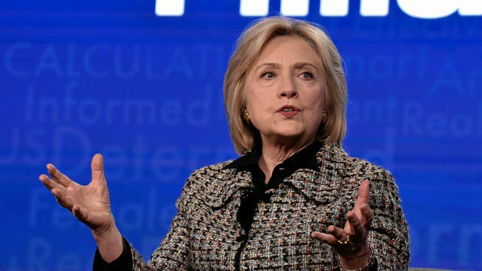 Hillary Clinton auf, die Sie denkt, dass 2020 Demokratischen Wähler entscheiden sich für die Kandidaten
