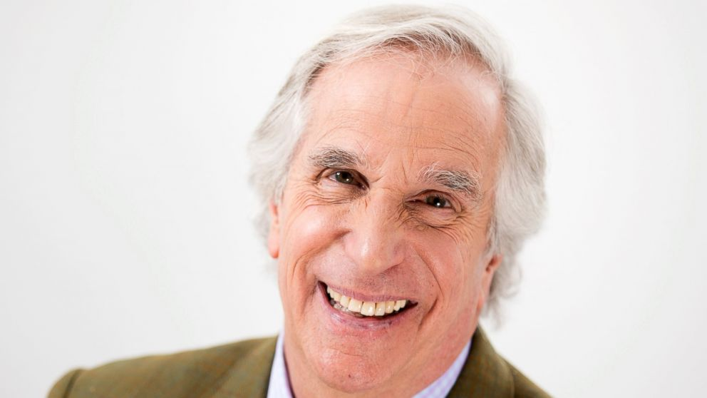"""In this Feb. 5, 2019 photo, actor and author Henry Winkler appears during a portrait session in New York to promote his latest book in the """"Here's Hank"""" series, """"Everybody Is Somebody."""" (Photo by Brian Ach/Invision/AP)"""