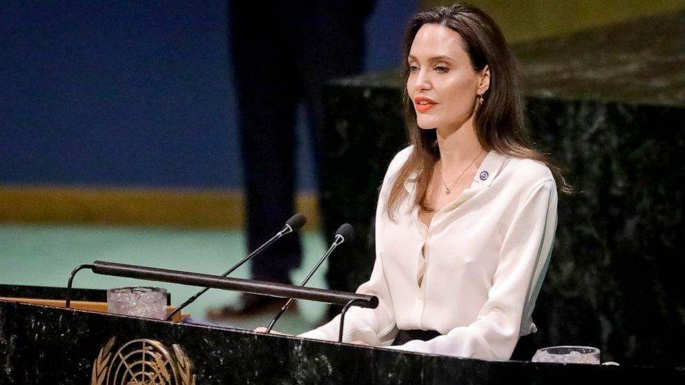 Angelina Jolie pide a la ONU ayudar a las víctimas de violaciones y juzgar a los culpables | Gente | Edición América