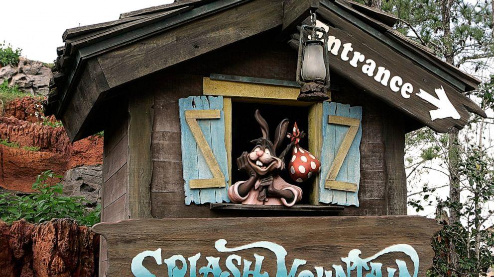 Disney changing Splash Mountain, ride tied to Jim Crow film thumbnail