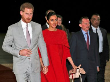 Prince Harry, wife Meghan in Morocco on official visit | ABC News