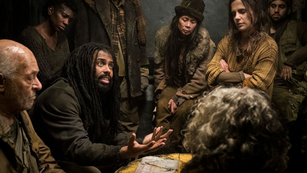 Daveed Diggs lets out his inner sci-fi fan in 'Snowpiercer' thumbnail