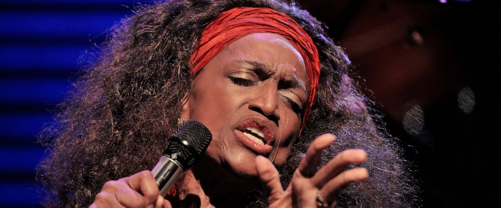 FILE - This July 4, 2010 file photo shows American opera singer Jessye Norman performing on the Stravinski Hall stage at the 44th Montreux Jazz Festival, in Montreux, Switzerland. Norman died, Monday, Sept. 30, 2019, at Mount Sinai St. Luke's Hospita