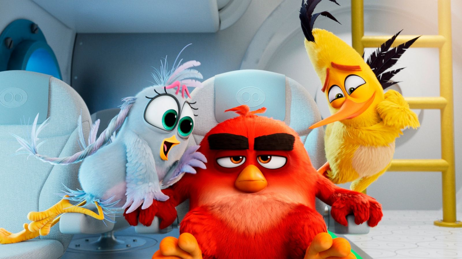 Review Angry Birds Can T Fly But This Sequel Stays Aloft Abc