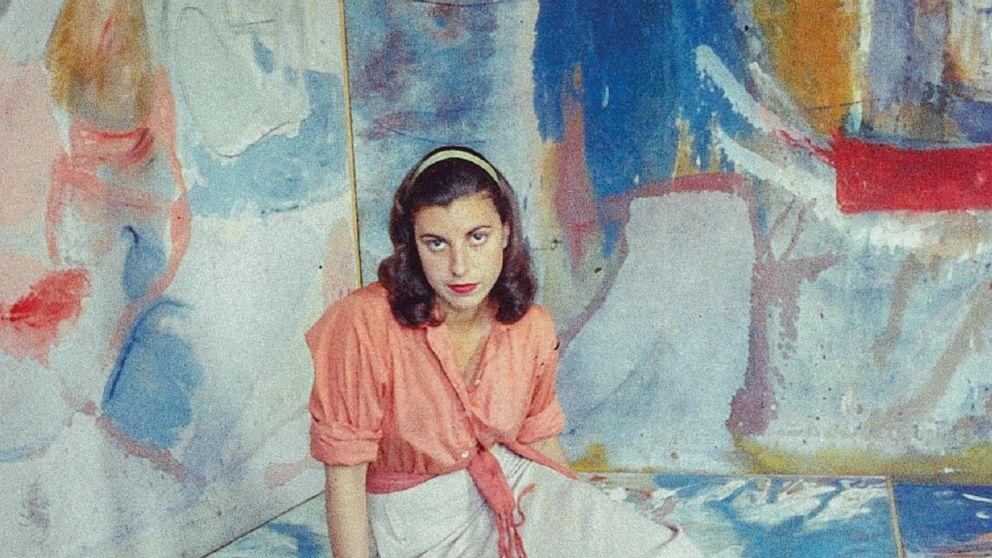 Review: Vibrant new portrait of artist Helen Frankenthaler - ABC News