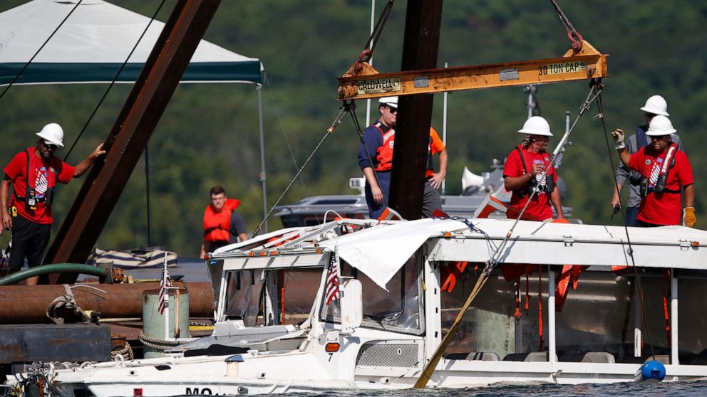 Coast Guard: Duck boat changes needed after Missouri sinking thumbnail
