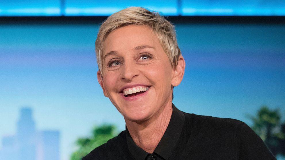 Ellen DeGeneres - Top 10 famous hot lesbian celebrities