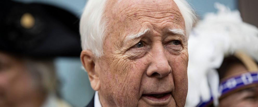 FILE - In this April 19, 2017 file photo author David McCullough attends the opening ceremony for Museum of the American Revolution in Philadelphia. McCulloughs new book is facing strong criticism for romanticizing white settlers and deemphasizing t