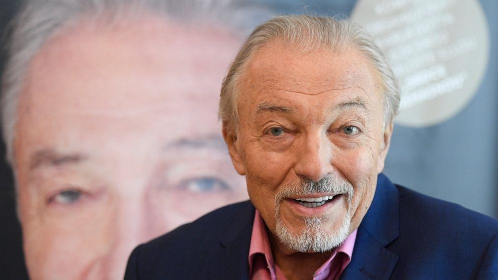 Czech pop singer Karel Gott dies at 80