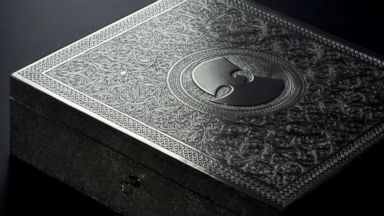 "PHOTO: Wu-Tang Clan plans to release one copy of its double-album ""The Wu – Once Upon a Time In Shaolin."" The copy will be presented in a hand carved nickel-silver box designed by the British Moroccan artist Yahya."