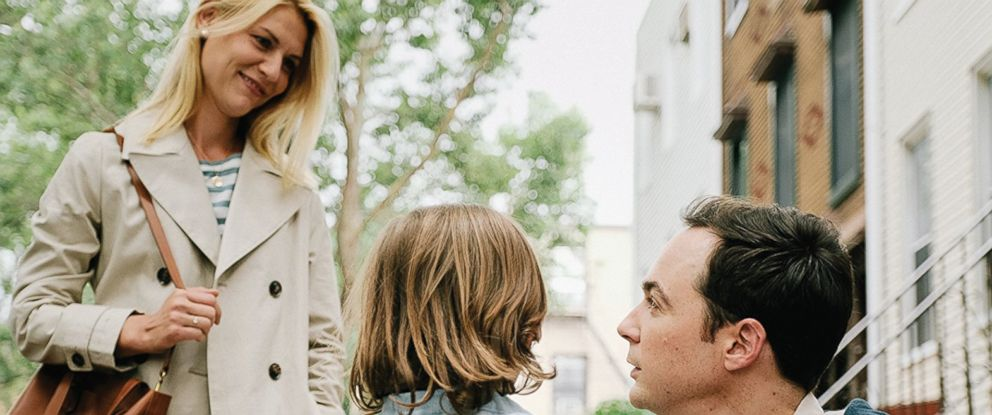 PHOTO: Claire Danes, Jim Parsons, and Leo James Davis in A Kid Like Jake, 2018.