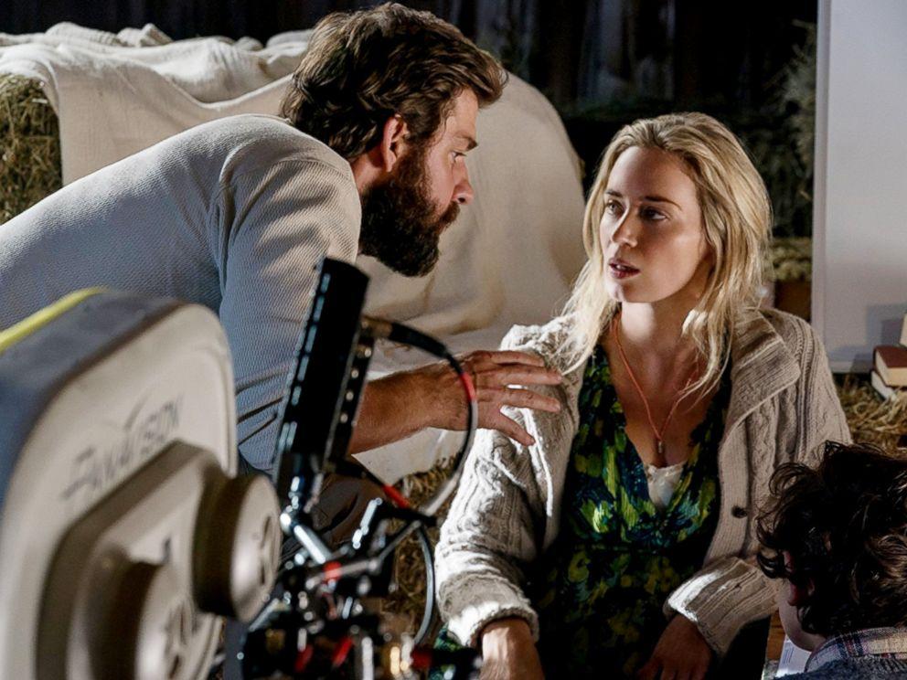 Director John Krasinski gushes over wife Emily Blunt's ...