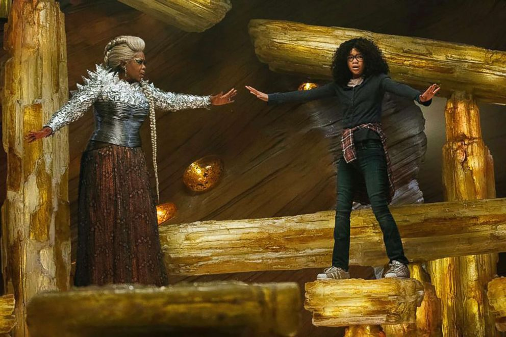 PHOTO: Oprah Winfrey and Storm Reid appear in a scene form in A Wrinkle in Time.