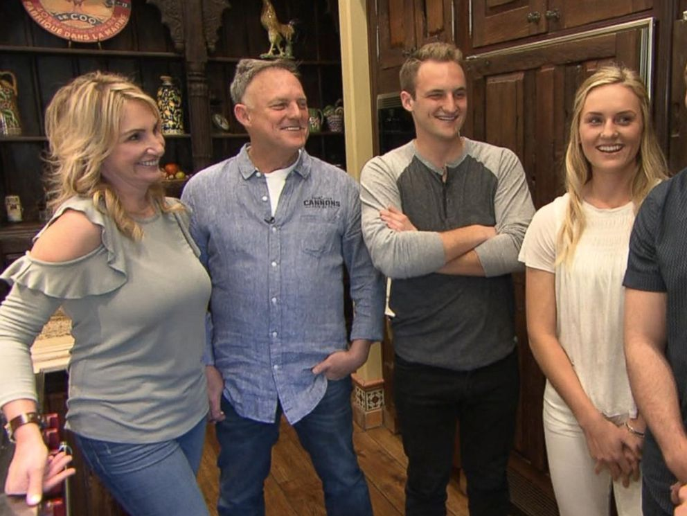PHOTO: ABC News Nick Watt interviewed the family that lives in the Bachelor mansion while the show is not being filmed there.