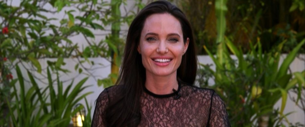 """PHOTO: Actress Angelina Jolie sat down for an exclusive interview with ABC News """"Good Morning America"""" toabout her new film set in Cambodia."""